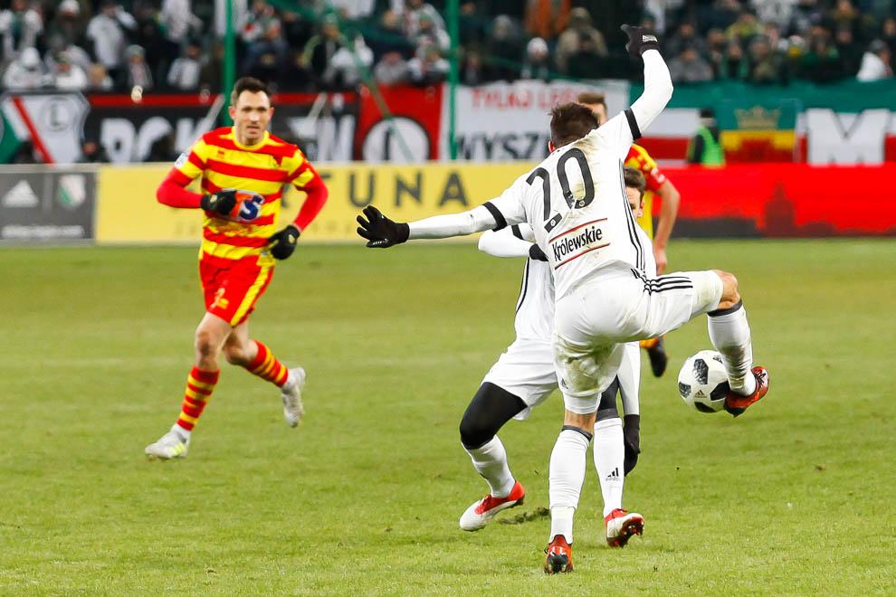 Legia Warszawa 0-2 Jagiellonia Białystok - fot. Piotr Galas (zdjęcie 64 z 72)