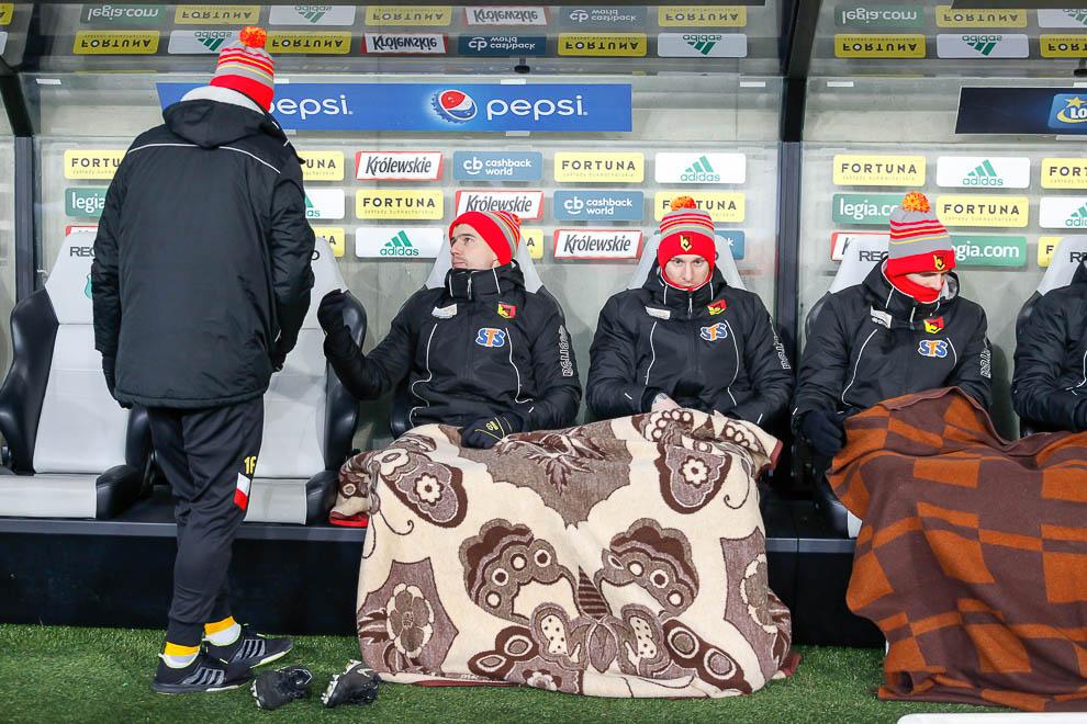 Legia Warszawa 0-2 Jagiellonia Białystok - fot. Piotr Galas (zdjęcie 7 z 72)