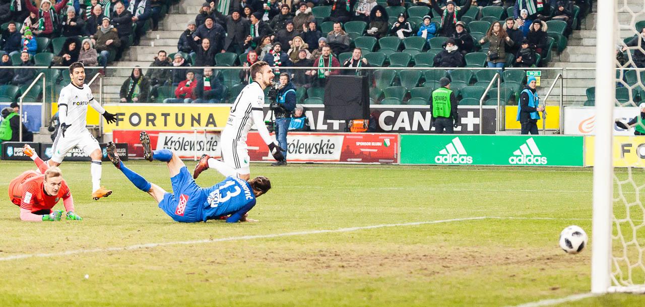 Legia Warszawa 2-1 Lech Poznań - fot. Piotr Galas (zdjęcie 12 z 94)