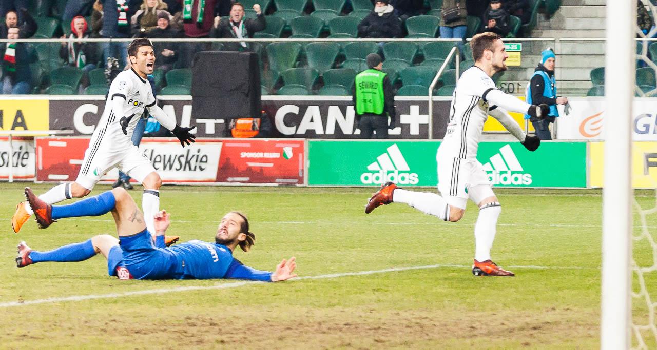 Legia Warszawa 2-1 Lech Poznań - fot. Piotr Galas (zdjęcie 13 z 94)