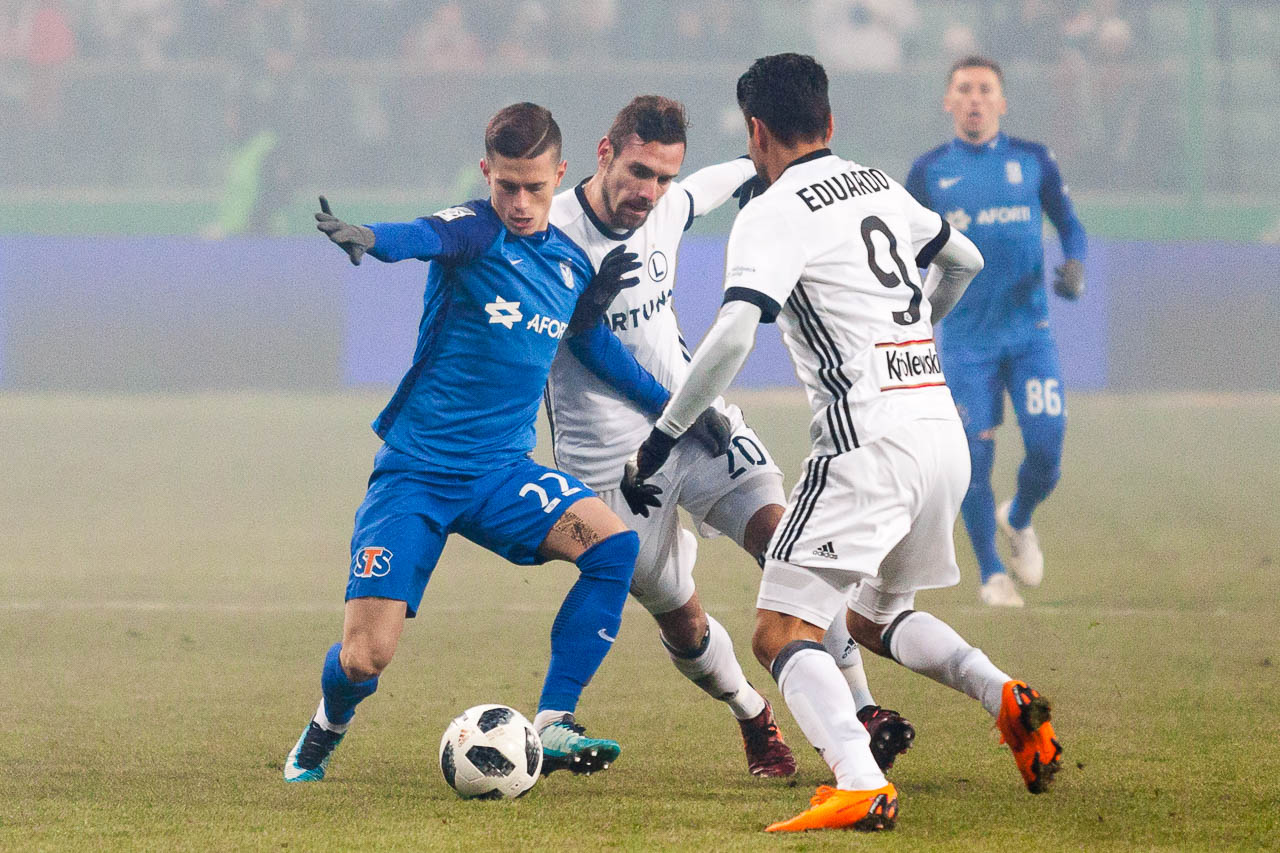 Legia Warszawa 2-1 Lech Poznań - fot. Piotr Galas (zdjęcie 14 z 94)