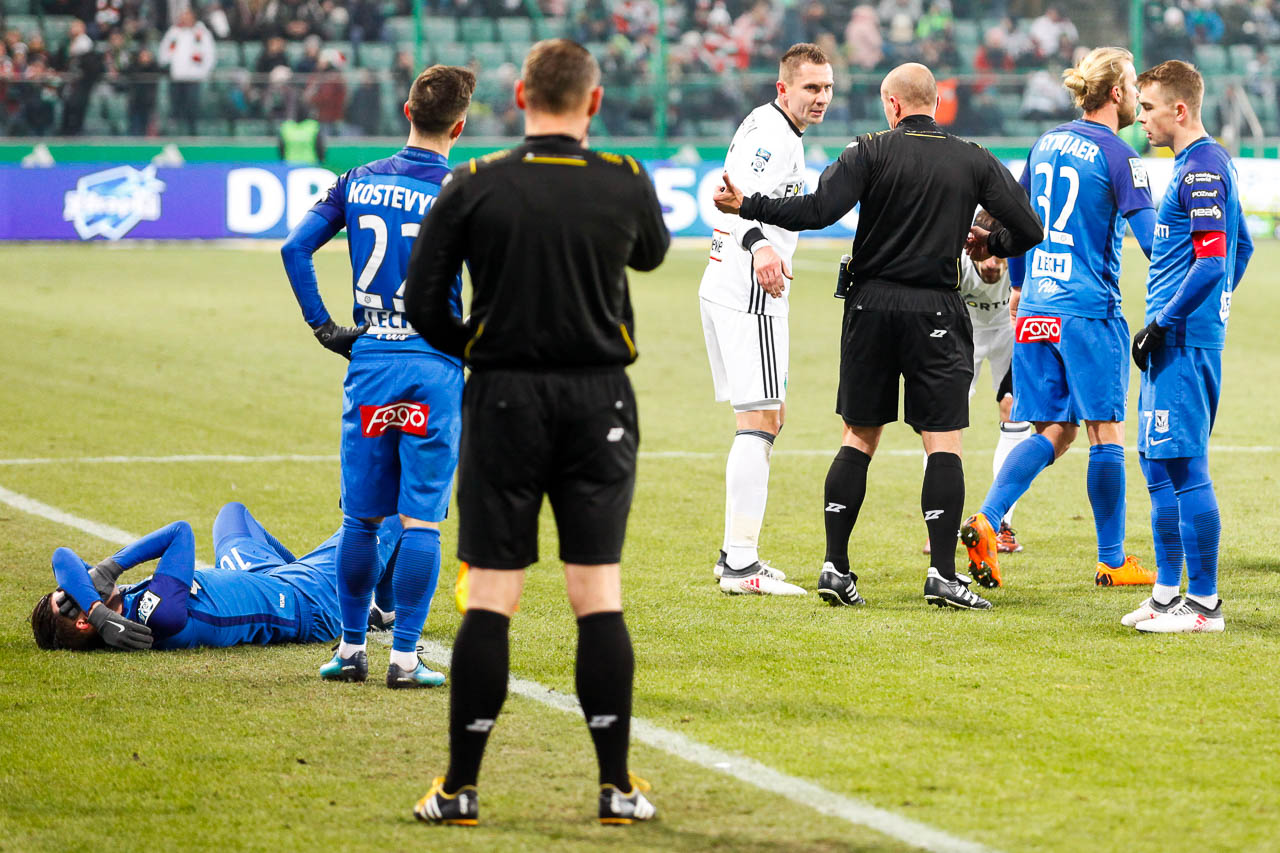 Legia Warszawa 2-1 Lech Poznań - fot. Piotr Galas (zdjęcie 26 z 94)
