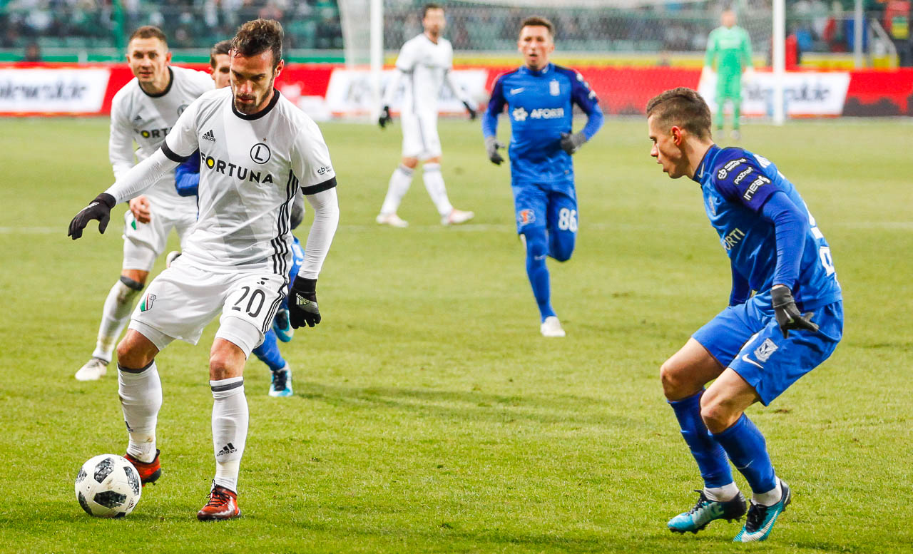 Legia Warszawa 2-1 Lech Poznań - fot. Piotr Galas (zdjęcie 27 z 94)