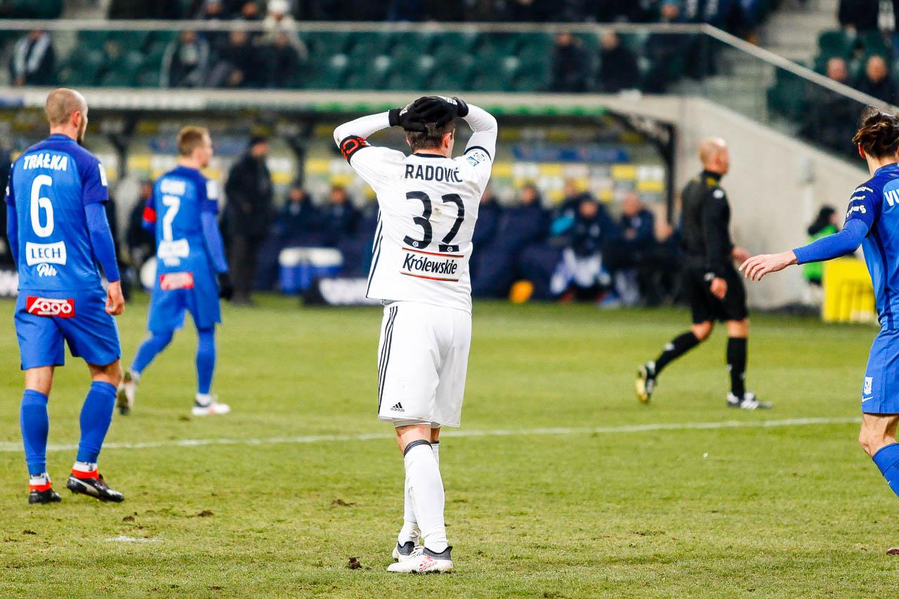 Legia Warszawa 2-1 Lech Poznań - fot. Piotr Galas (zdjęcie 32 z 94)