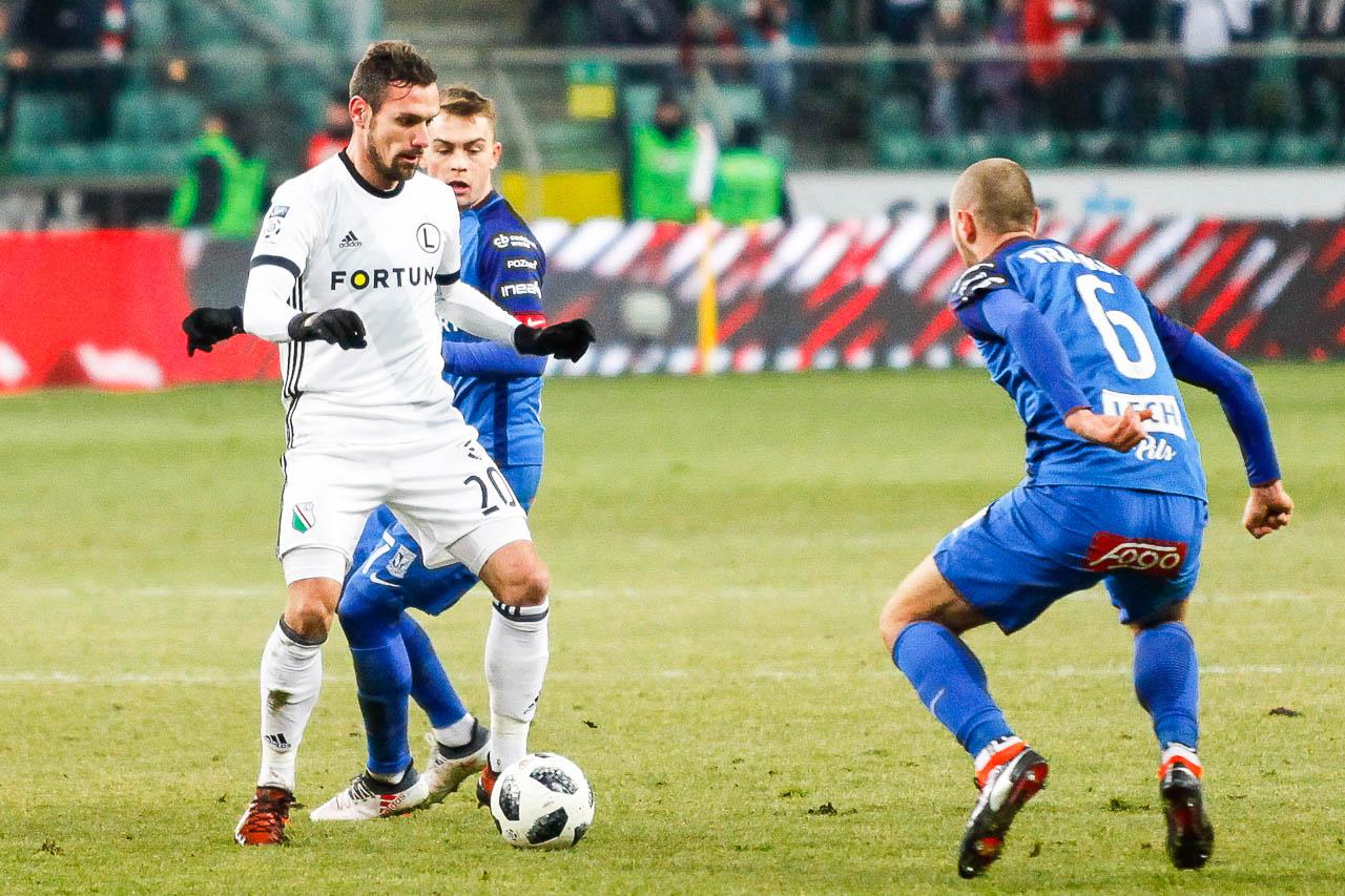 Legia Warszawa 2-1 Lech Poznań - fot. Piotr Galas (zdjęcie 41 z 94)