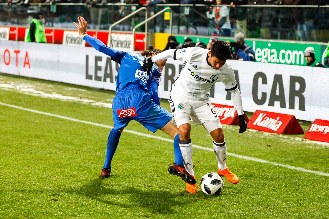 Legia Warszawa 2-1 Lech Poznań - fot. Piotr Galas (zdjęcie 48 z 94)