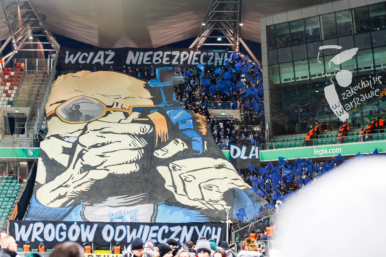 Legia Warszawa 2-1 Lech Poznań - fot. Piotr Galas (zdjęcie 5 z 94)