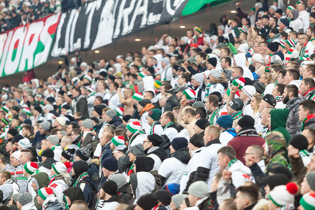 Legia Warszawa 2-1 Lech Poznań - fot. Piotr Galas (zdjęcie 83 z 94)