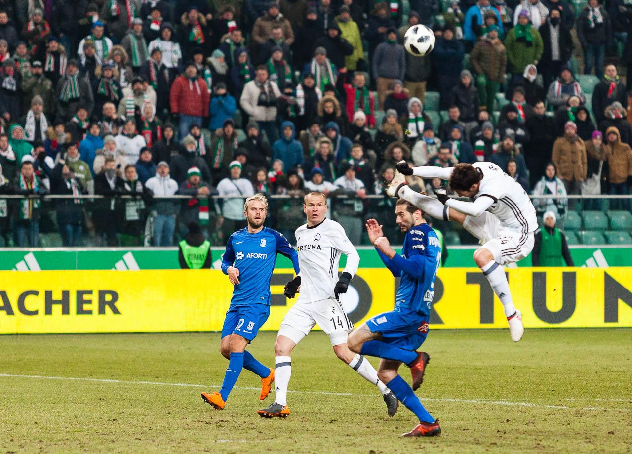 Legia Warszawa 2-1 Lech Poznań - fot. Piotr Galas (zdjęcie 86 z 94)