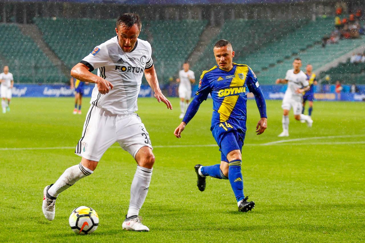 Legia Warszawa 2-3 Arka Gdynia - fot. Piotr Galas (zdjęcie 25 z 75)