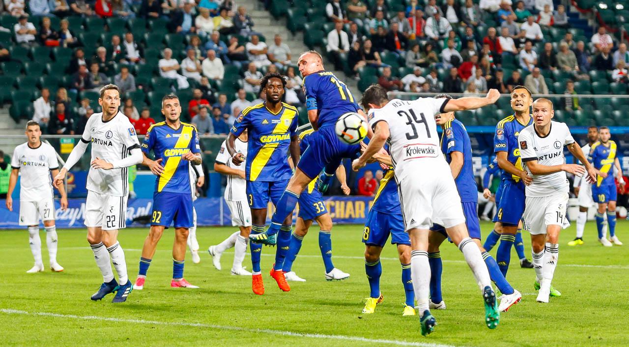 Legia Warszawa 2-3 Arka Gdynia - fot. Piotr Galas (zdjęcie 60 z 75)