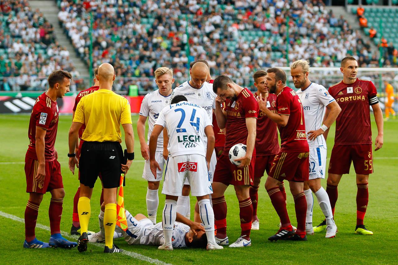 Legia Warszawa 1-0 Lech Poznań - fot. Piotr Galas (zdjęcie 34 z 105)