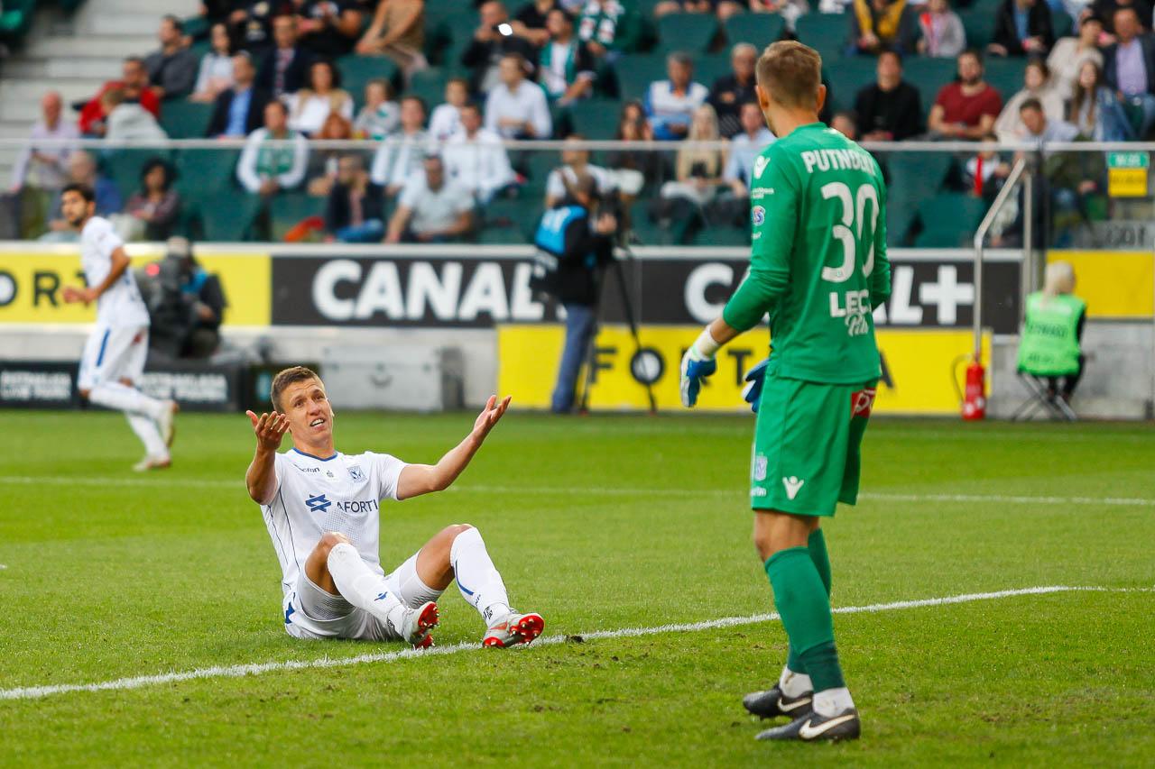 Legia Warszawa 1-0 Lech Poznań - fot. Piotr Galas (zdjęcie 42 z 105)