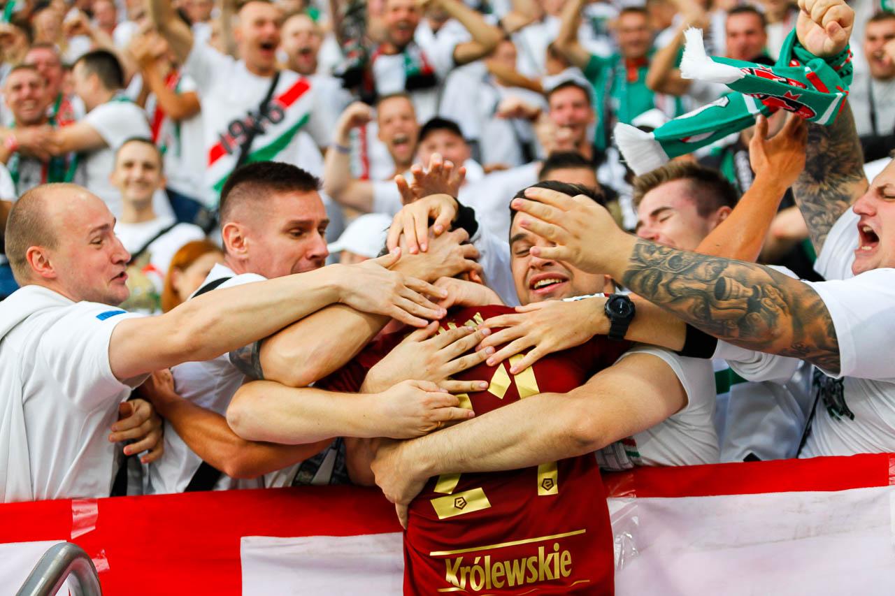 Legia Warszawa 1-0 Lech Poznań - fot. Piotr Galas (zdjęcie 59 z 105)