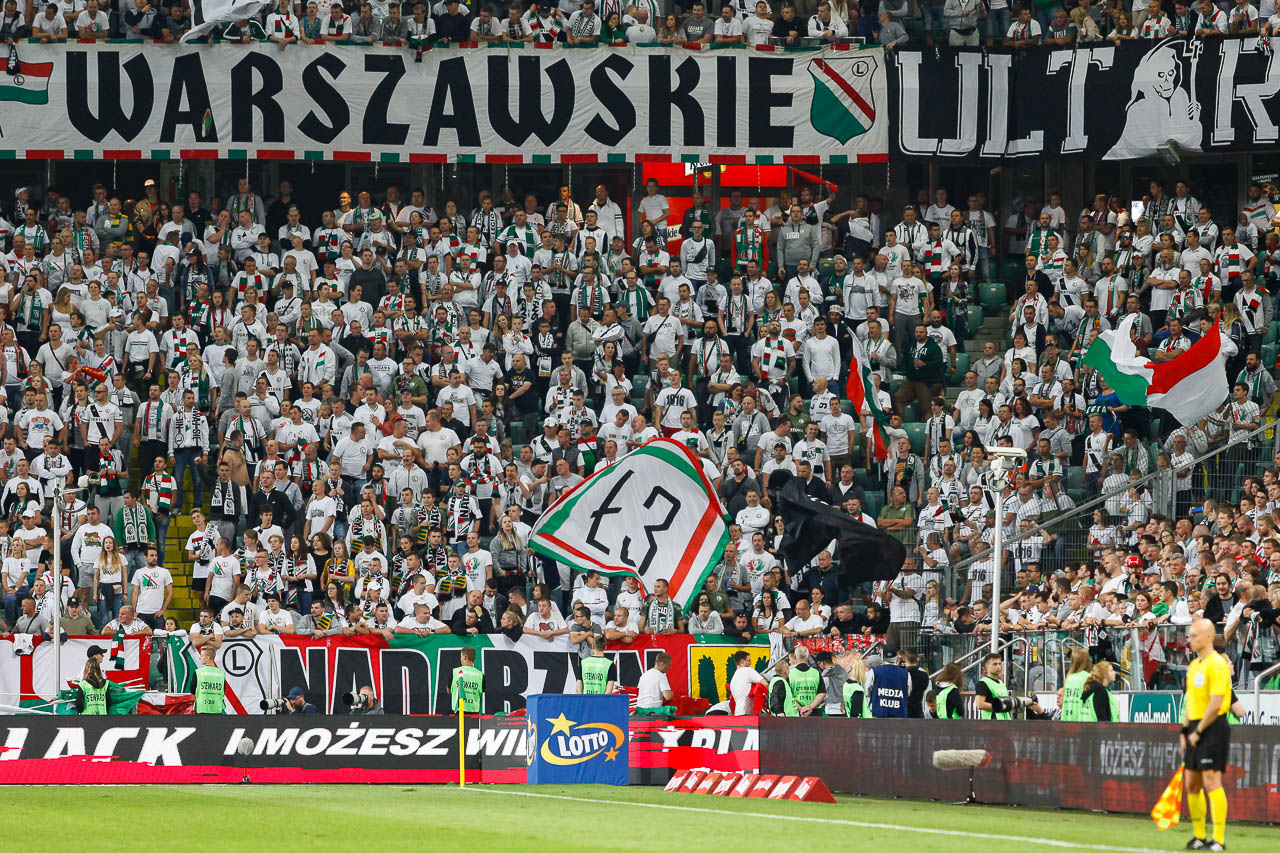 Legia Warszawa 1-0 Lech Poznań - fot. Piotr Galas (zdjęcie 96 z 105)