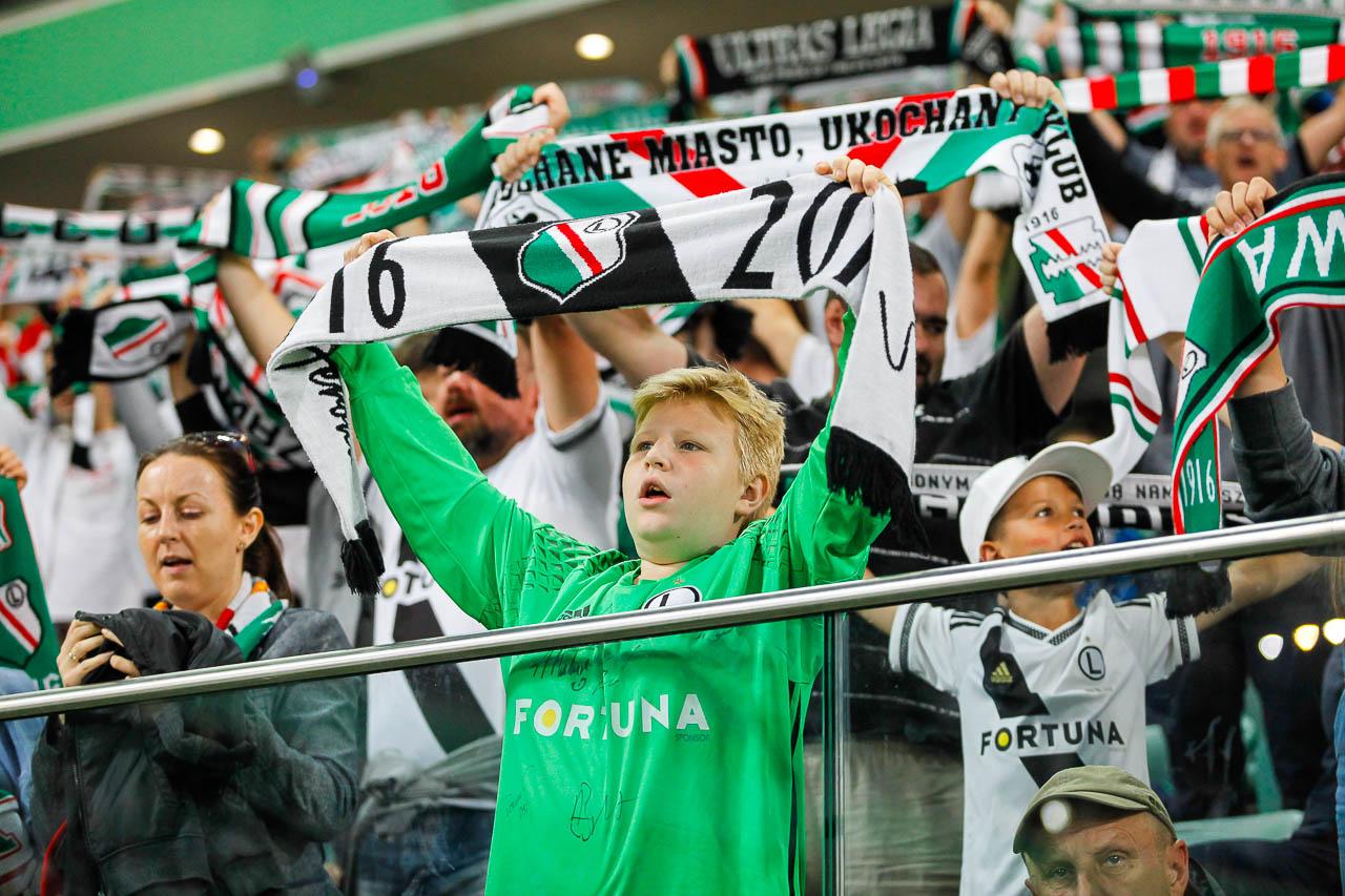 Legia Warszawa 1-0 Lech Poznań - fot. Piotr Galas (zdjęcie 99 z 105)