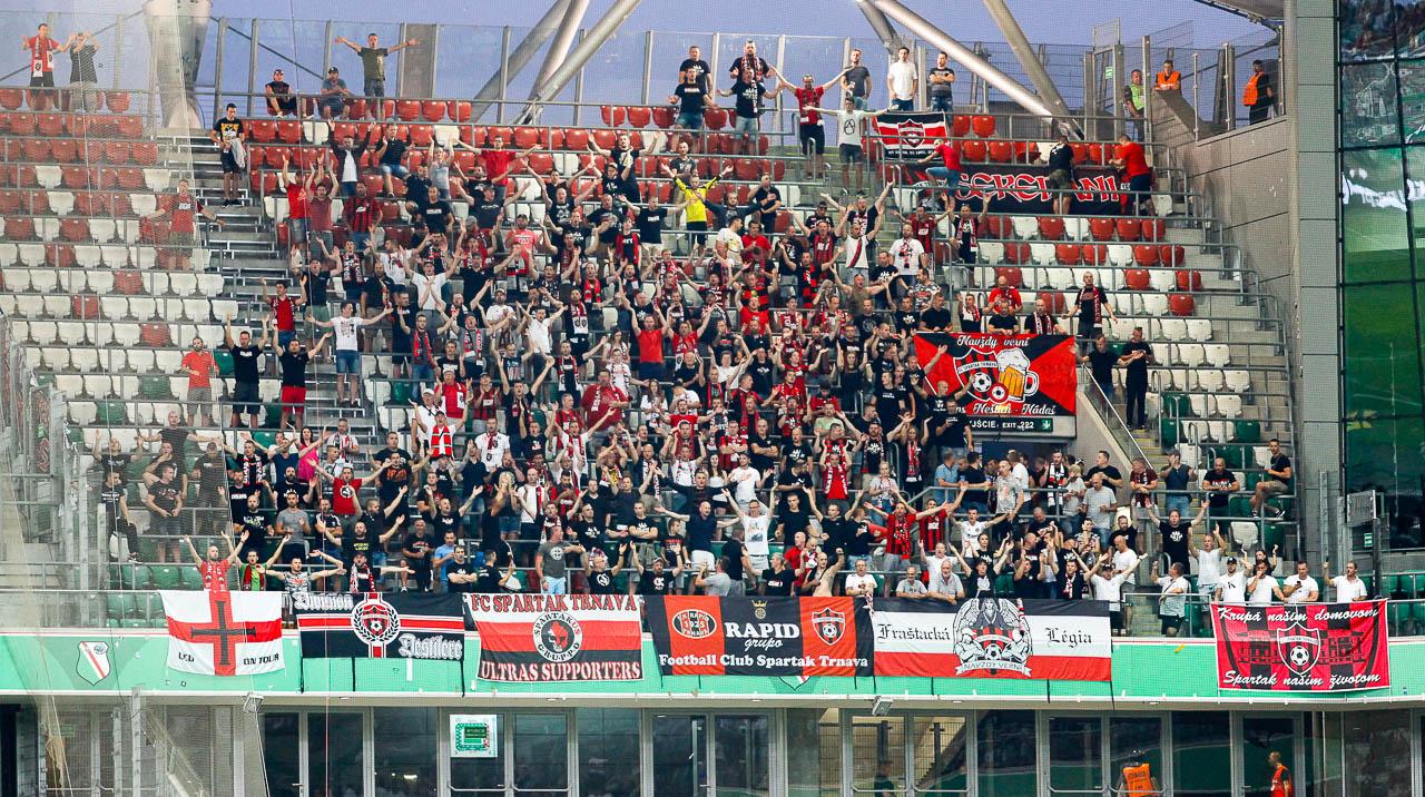 Legia Warszawa 0-2 Spartak Trnava - fot. Piotr Galas (zdjęcie 20 z 84)