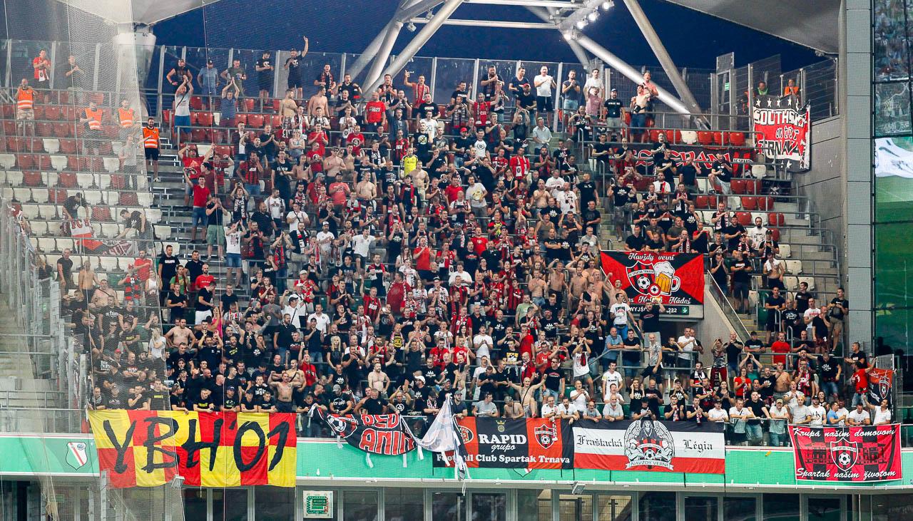 Legia Warszawa 0-2 Spartak Trnava - fot. Piotr Galas (zdjęcie 32 z 84)