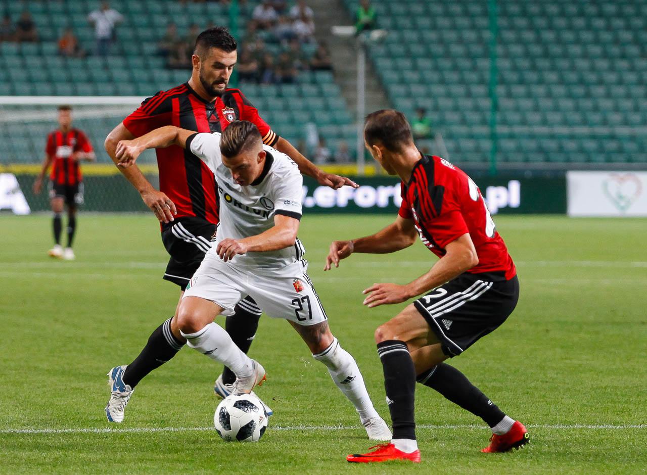 Legia Warszawa 0-2 Spartak Trnava - fot. Piotr Galas (zdjęcie 38 z 84)