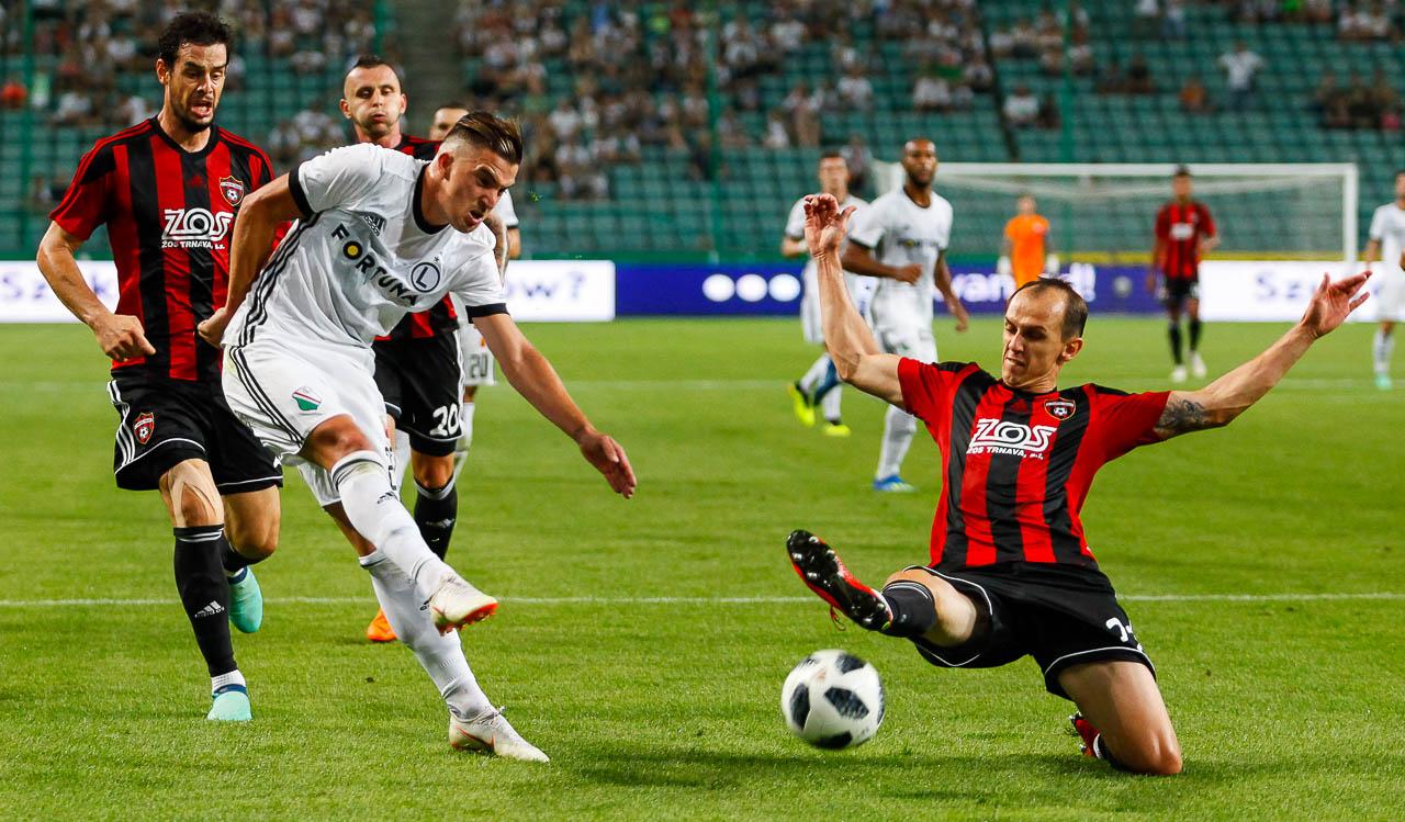 Legia Warszawa 0-2 Spartak Trnava - fot. Piotr Galas (zdjęcie 39 z 84)