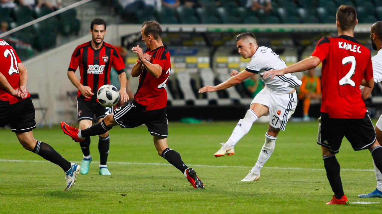 Legia Warszawa 0-2 Spartak Trnava - fot. Piotr Galas (zdjęcie 53 z 84)