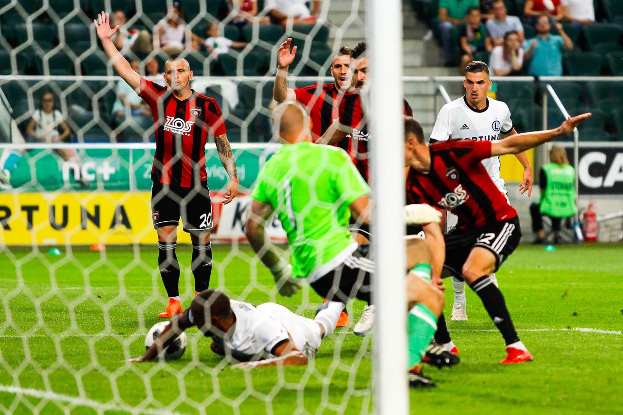 Legia Warszawa 0-2 Spartak Trnava - fot. Piotr Galas (zdjęcie 61 z 84)