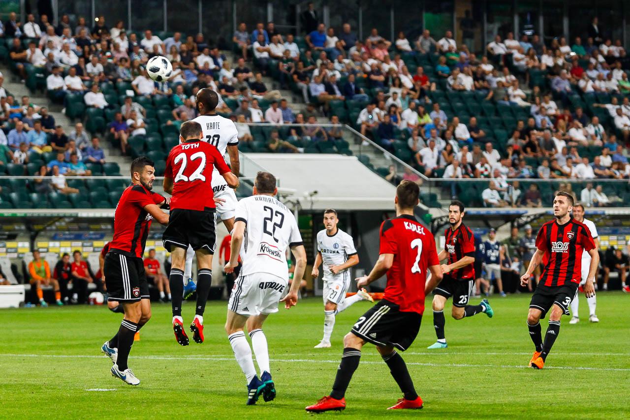 Legia Warszawa 0-2 Spartak Trnava - fot. Piotr Galas (zdjęcie 63 z 84)