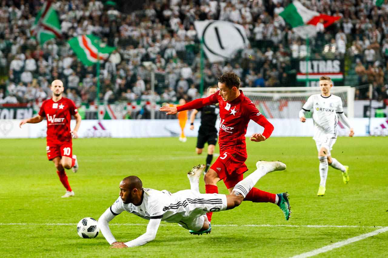 Legia Warszawa 3-3 Wisła Kraków - fot. Piotr Galas (zdjęcie 104 z 113)