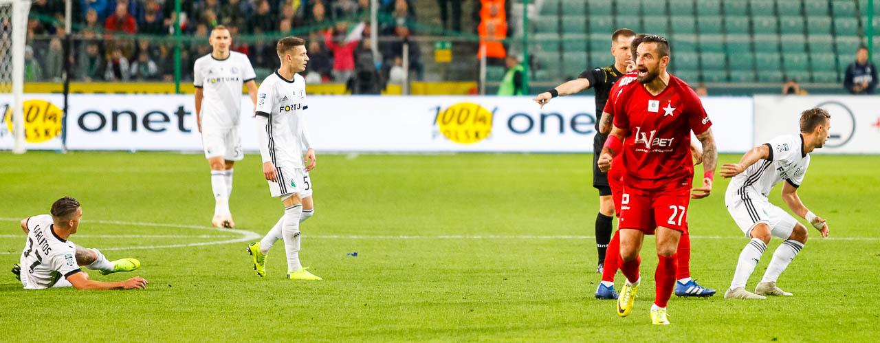 Legia Warszawa 3-3 Wisła Kraków - fot. Piotr Galas (zdjęcie 29 z 113)