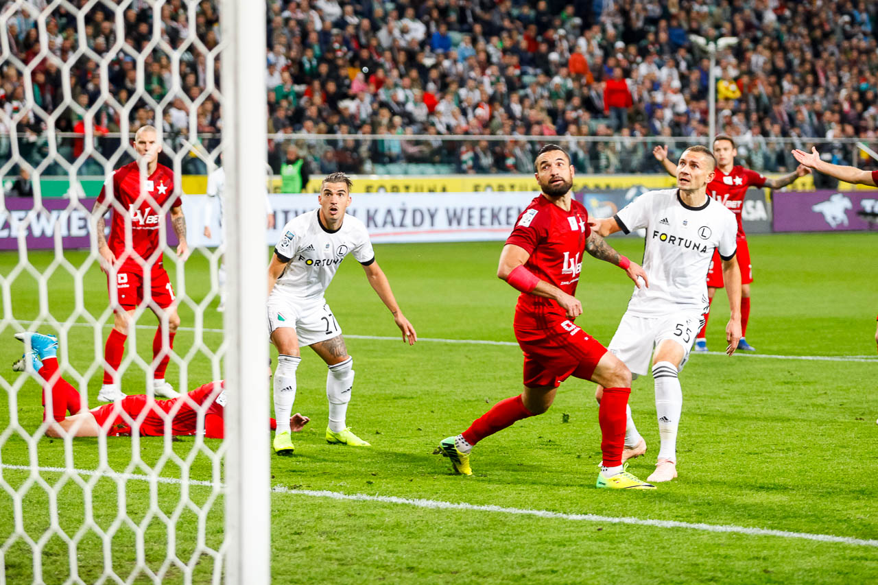 Legia Warszawa 3-3 Wisła Kraków - fot. Piotr Galas (zdjęcie 31 z 113)