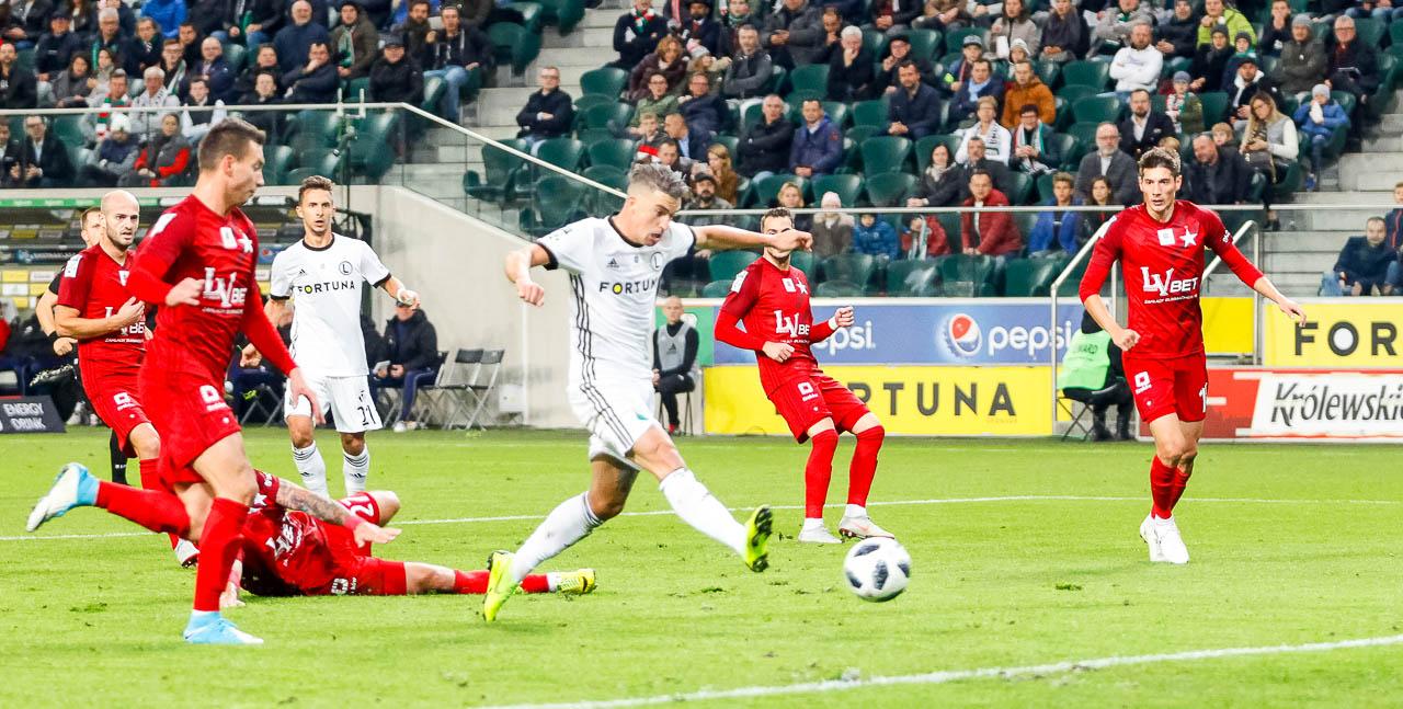 Legia Warszawa 3-3 Wisła Kraków - fot. Piotr Galas (zdjęcie 35 z 113)