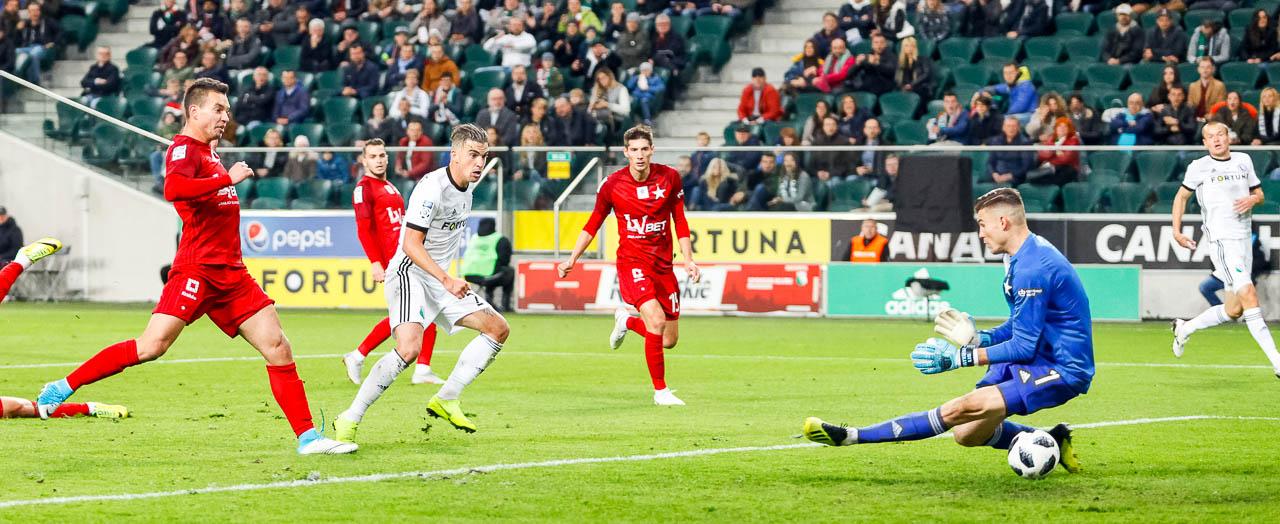 Legia Warszawa 3-3 Wisła Kraków - fot. Piotr Galas (zdjęcie 36 z 113)