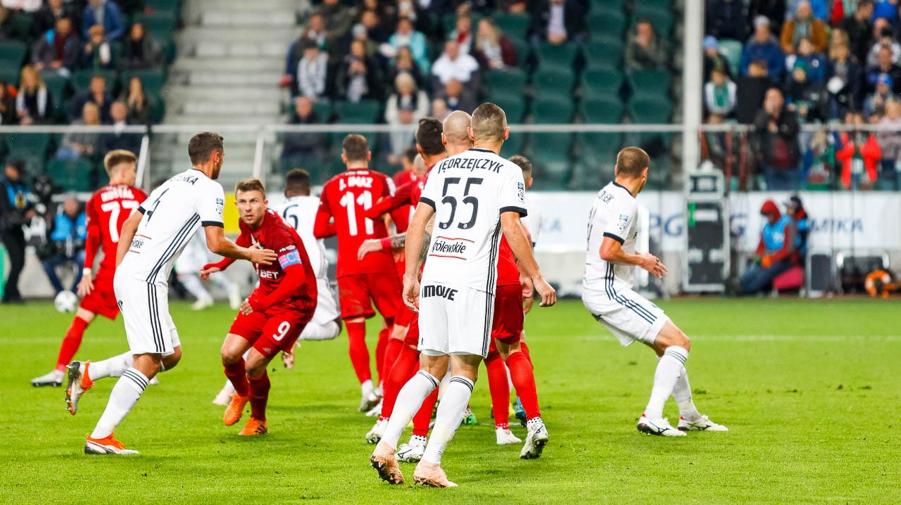 Legia Warszawa 3-3 Wisła Kraków - fot. Piotr Galas (zdjęcie 38 z 113)