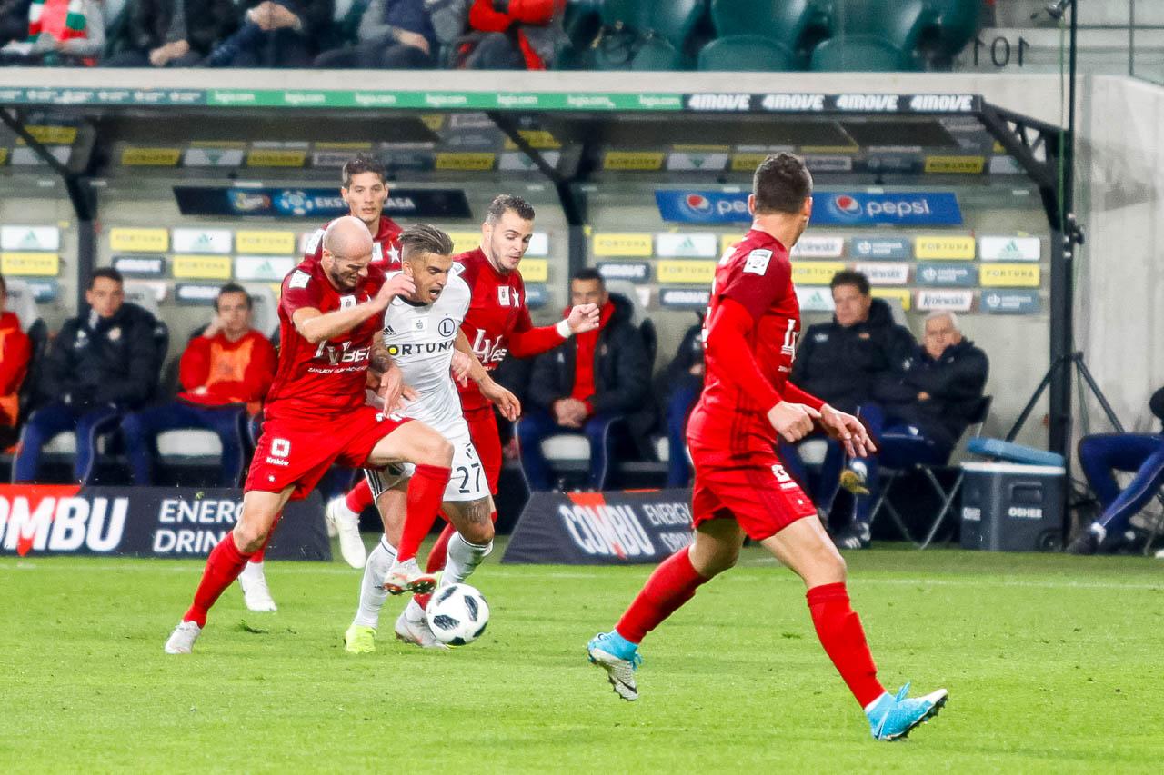 Legia Warszawa 3-3 Wisła Kraków - fot. Piotr Galas (zdjęcie 39 z 113)