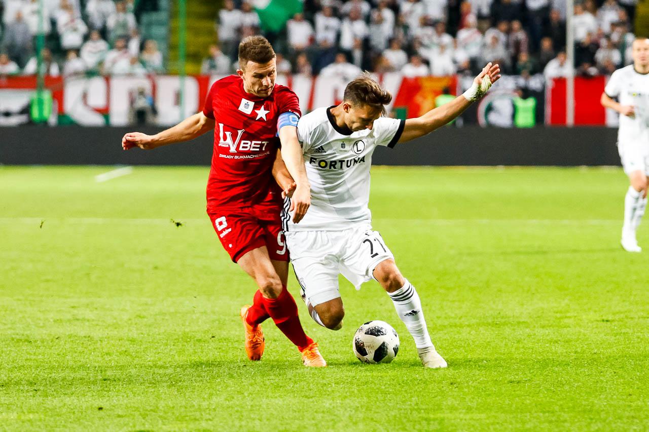Legia Warszawa 3-3 Wisła Kraków - fot. Piotr Galas (zdjęcie 70 z 113)