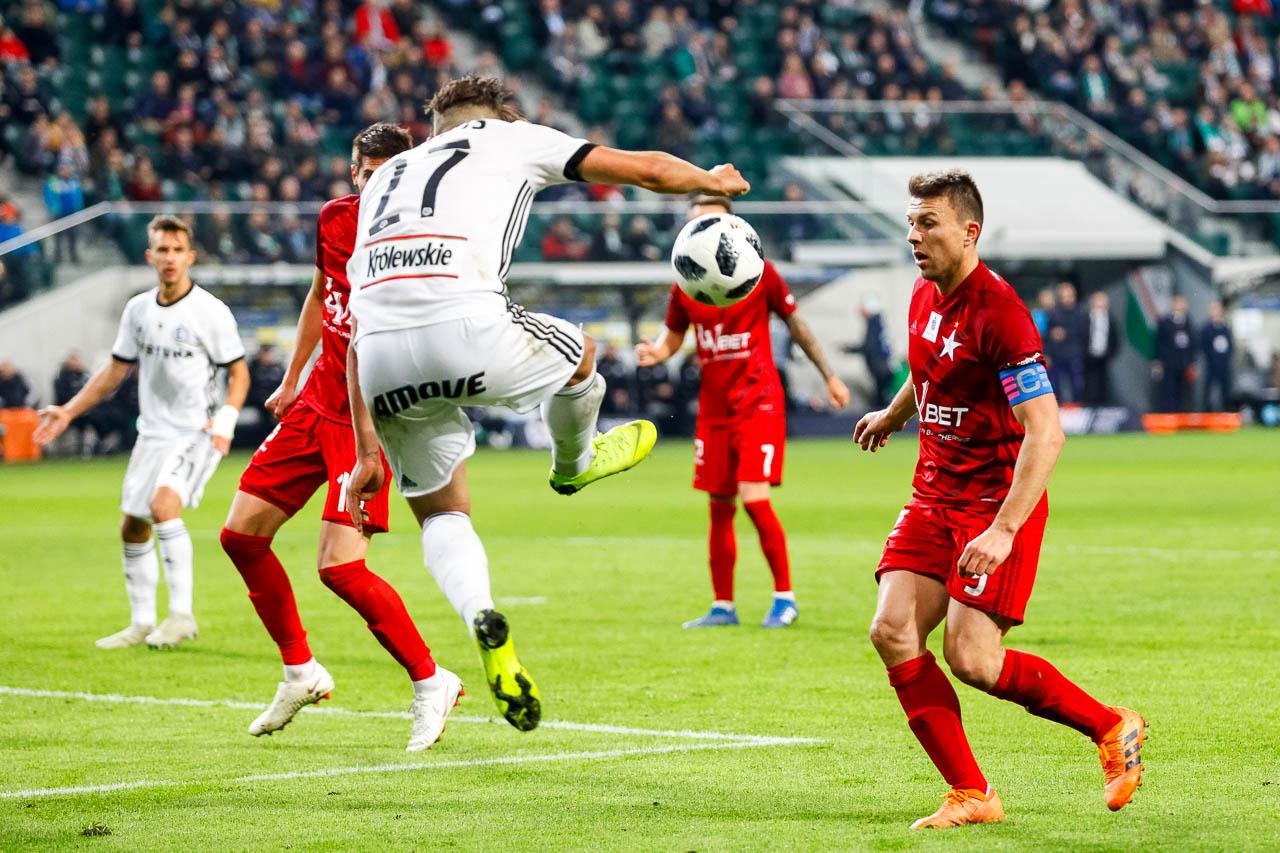 Legia Warszawa 3-3 Wisła Kraków - fot. Piotr Galas (zdjęcie 72 z 113)