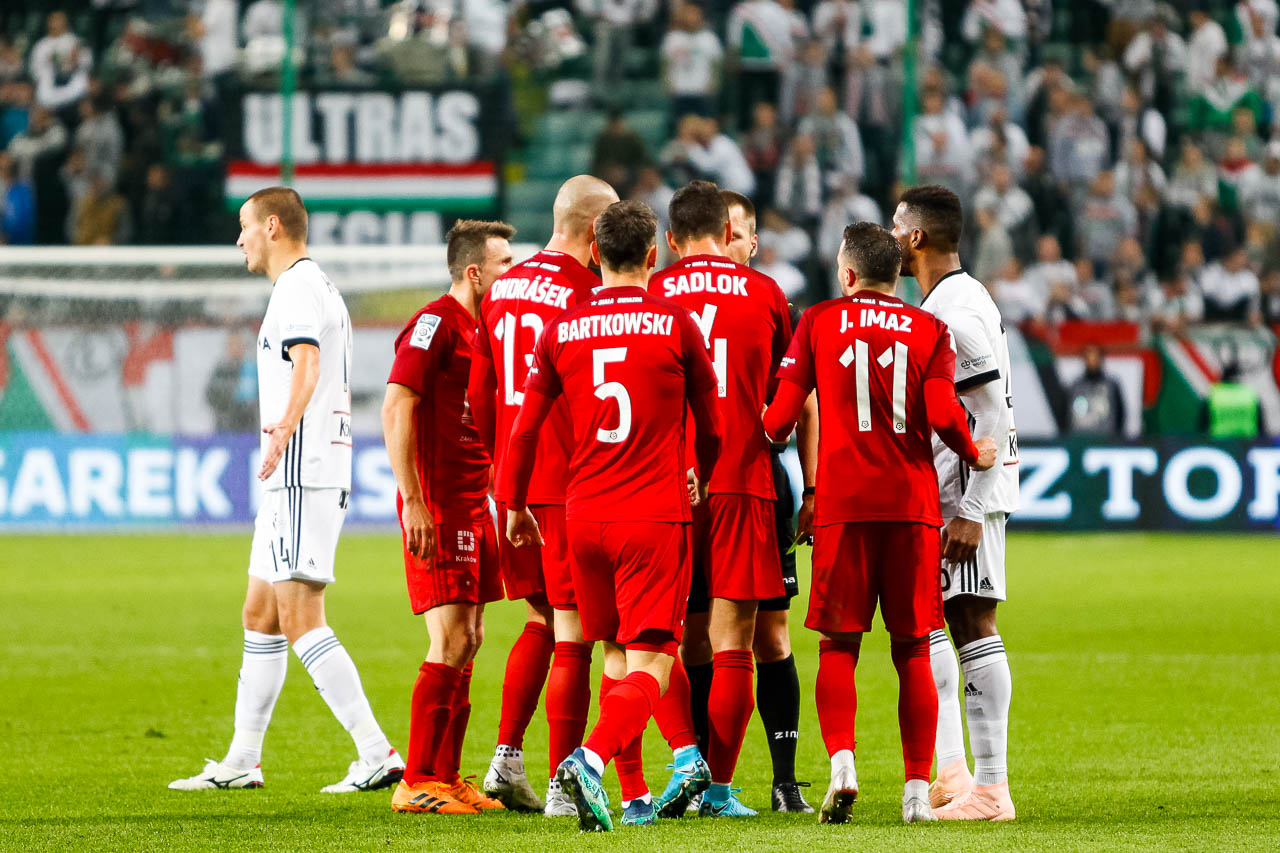Legia Warszawa 3-3 Wisła Kraków - fot. Piotr Galas (zdjęcie 77 z 113)
