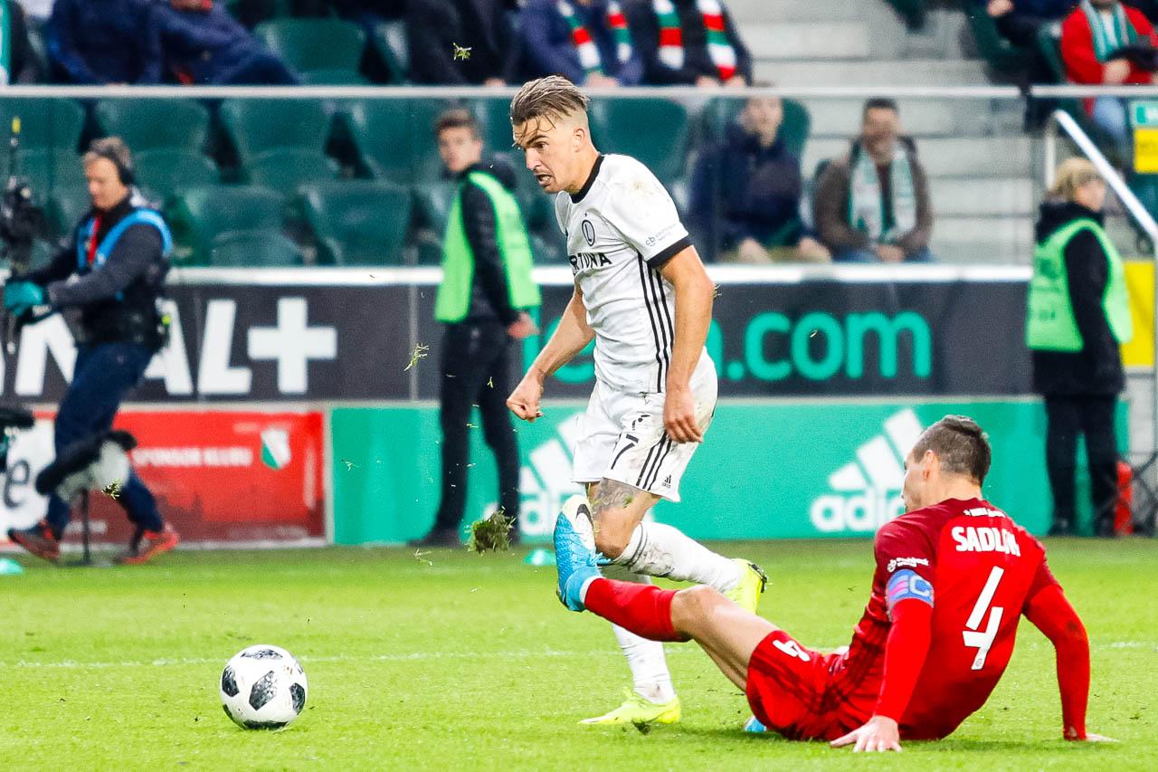 Legia Warszawa 3-3 Wisła Kraków - fot. Piotr Galas (zdjęcie 93 z 113)