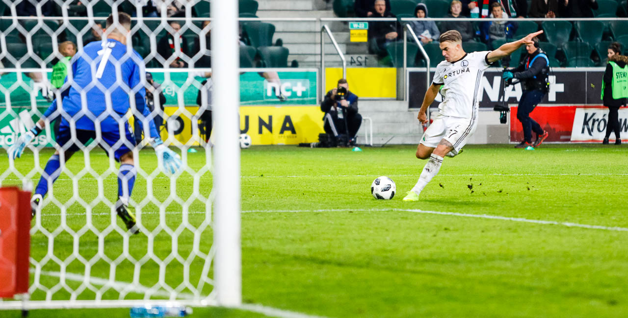 Legia Warszawa 3-3 Wisła Kraków - fot. Piotr Galas (zdjęcie 94 z 113)