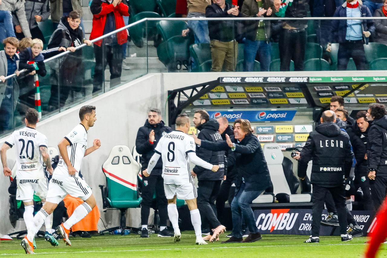 Legia Warszawa 3-3 Wisła Kraków - fot. Piotr Galas (zdjęcie 99 z 113)