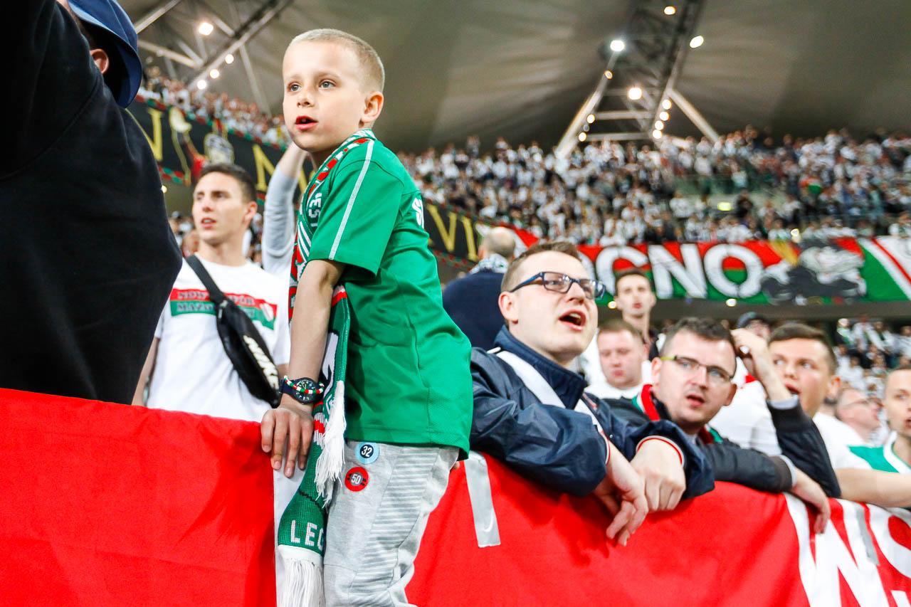 Legia Warszawa 1-0 Cracovia - fot. Piotr Galas (zdjęcie 22 z 89)