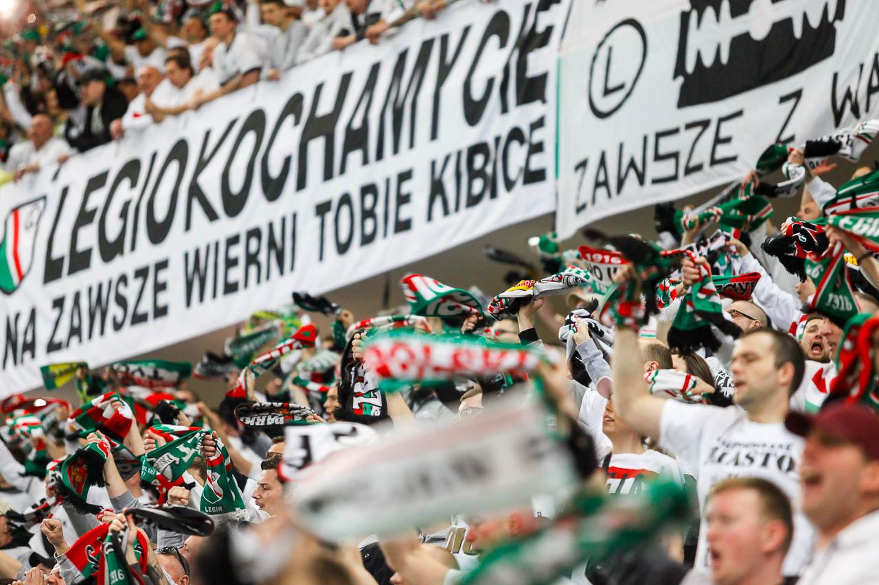 Legia Warszawa 1-0 Cracovia - fot. Piotr Galas (zdjęcie 25 z 89)