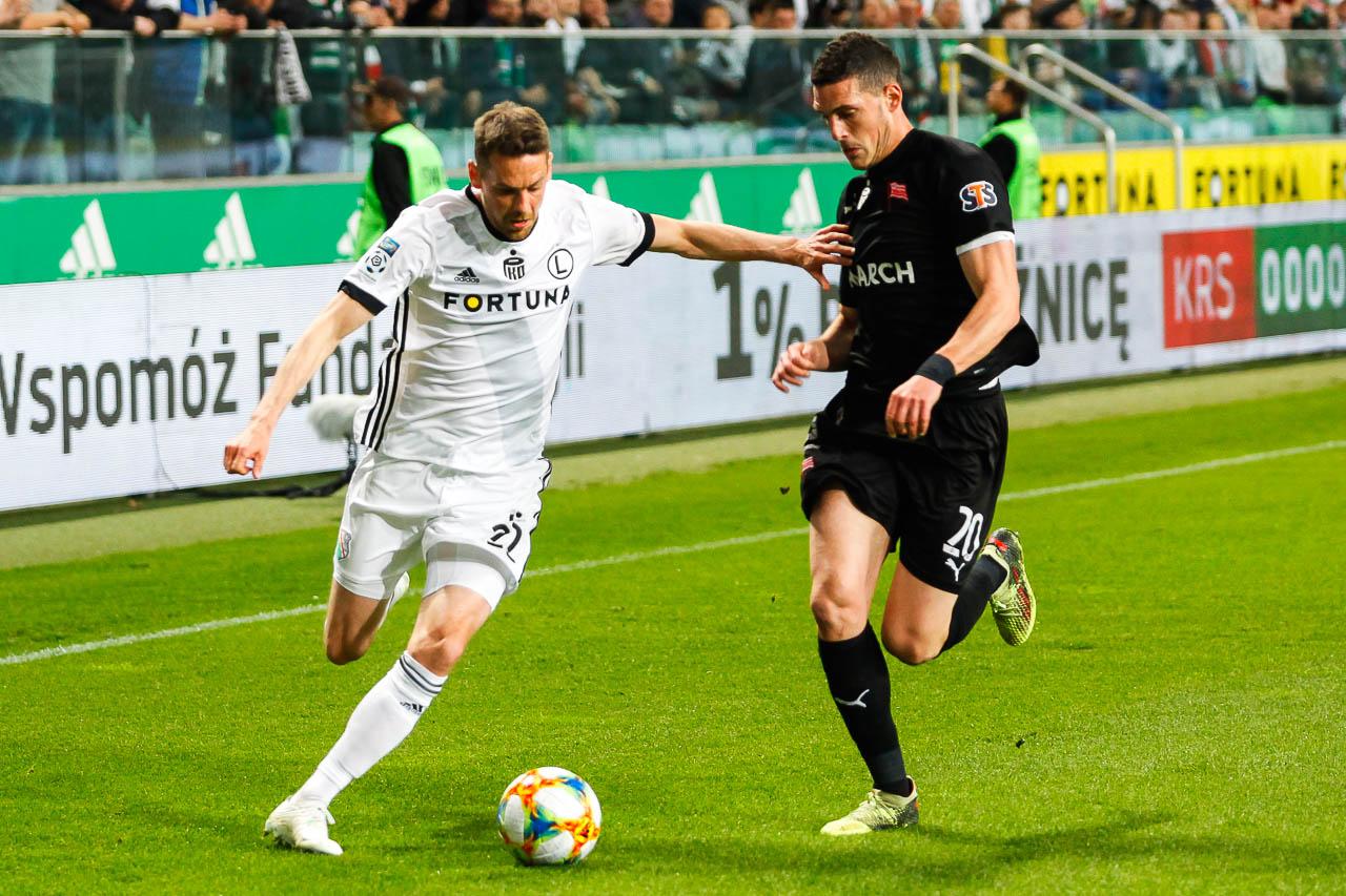 Legia Warszawa 1-0 Cracovia - fot. Piotr Galas (zdjęcie 27 z 89)