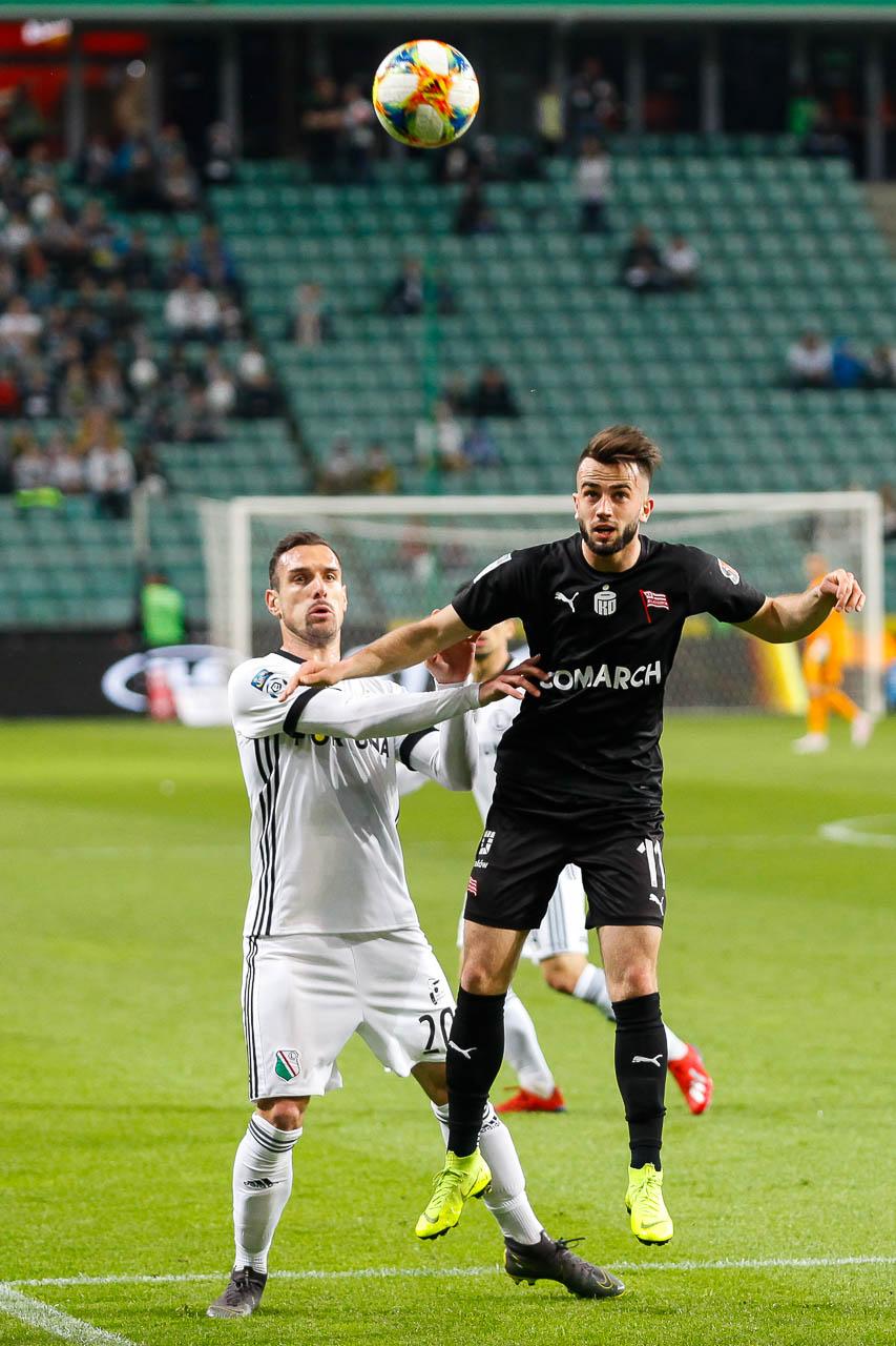 Legia Warszawa 1-0 Cracovia - fot. Piotr Galas (zdjęcie 30 z 89)