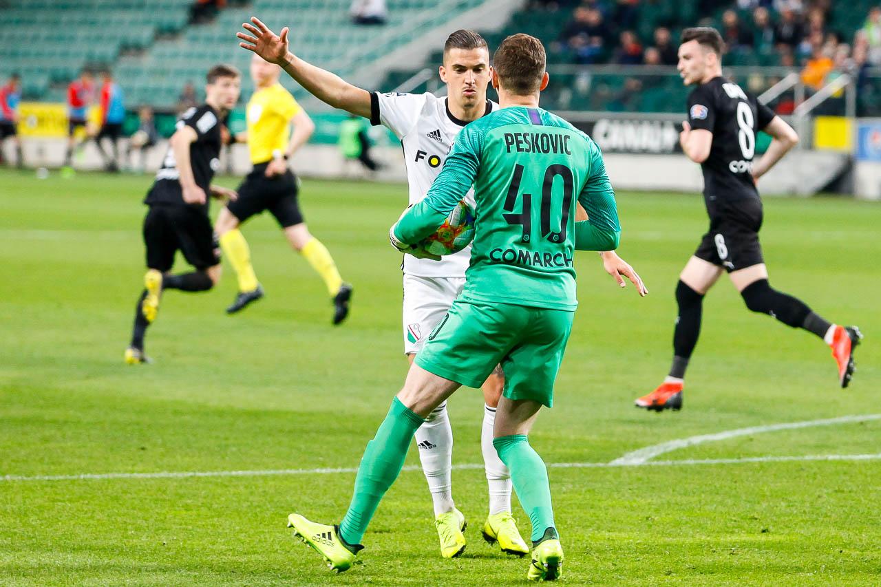 Legia Warszawa 1-0 Cracovia - fot. Piotr Galas (zdjęcie 35 z 89)