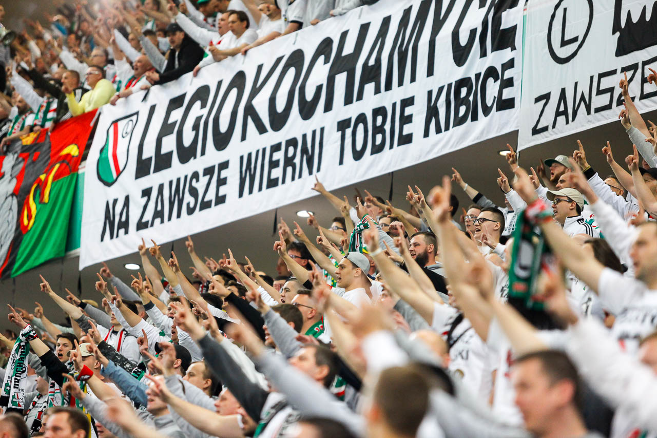 Legia Warszawa 1-0 Cracovia - fot. Piotr Galas (zdjęcie 36 z 89)