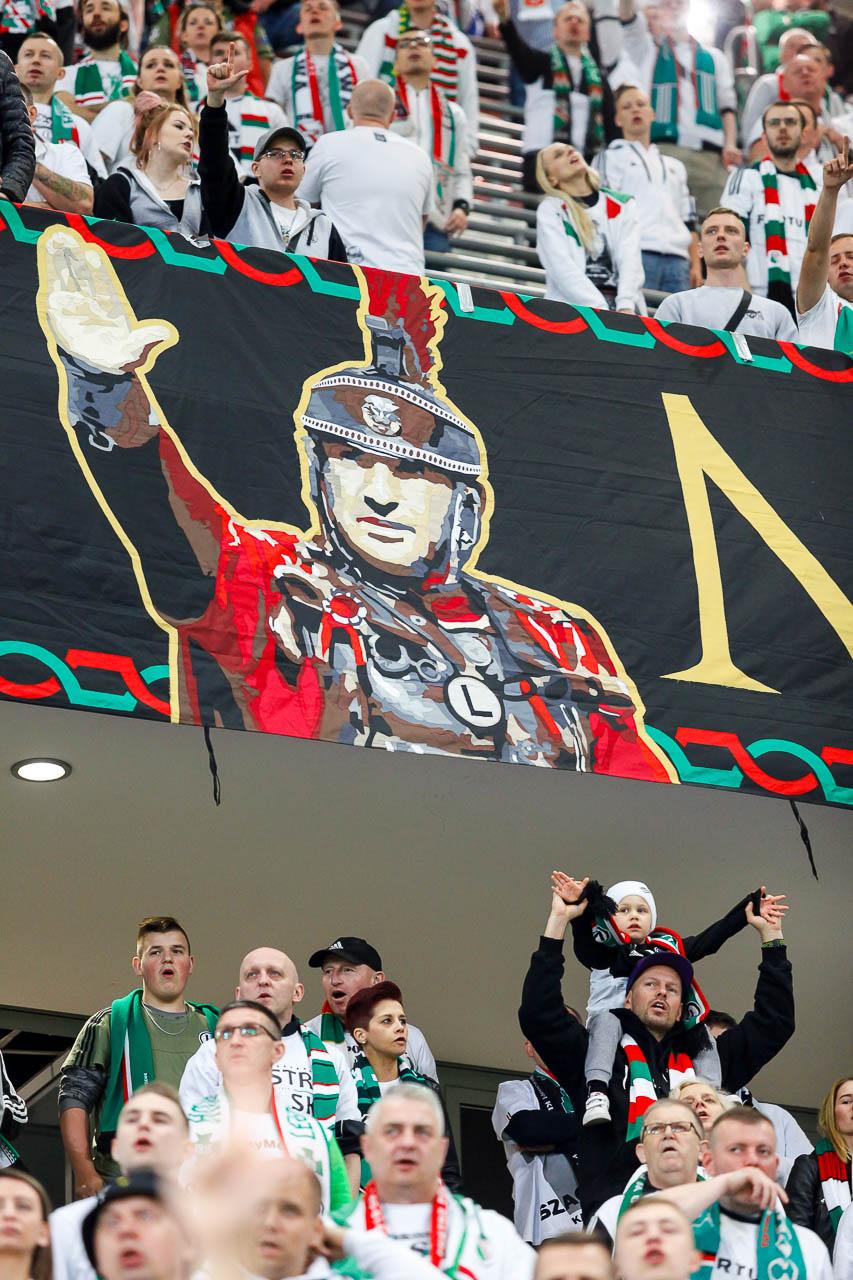 Legia Warszawa 1-0 Cracovia - fot. Piotr Galas (zdjęcie 37 z 89)