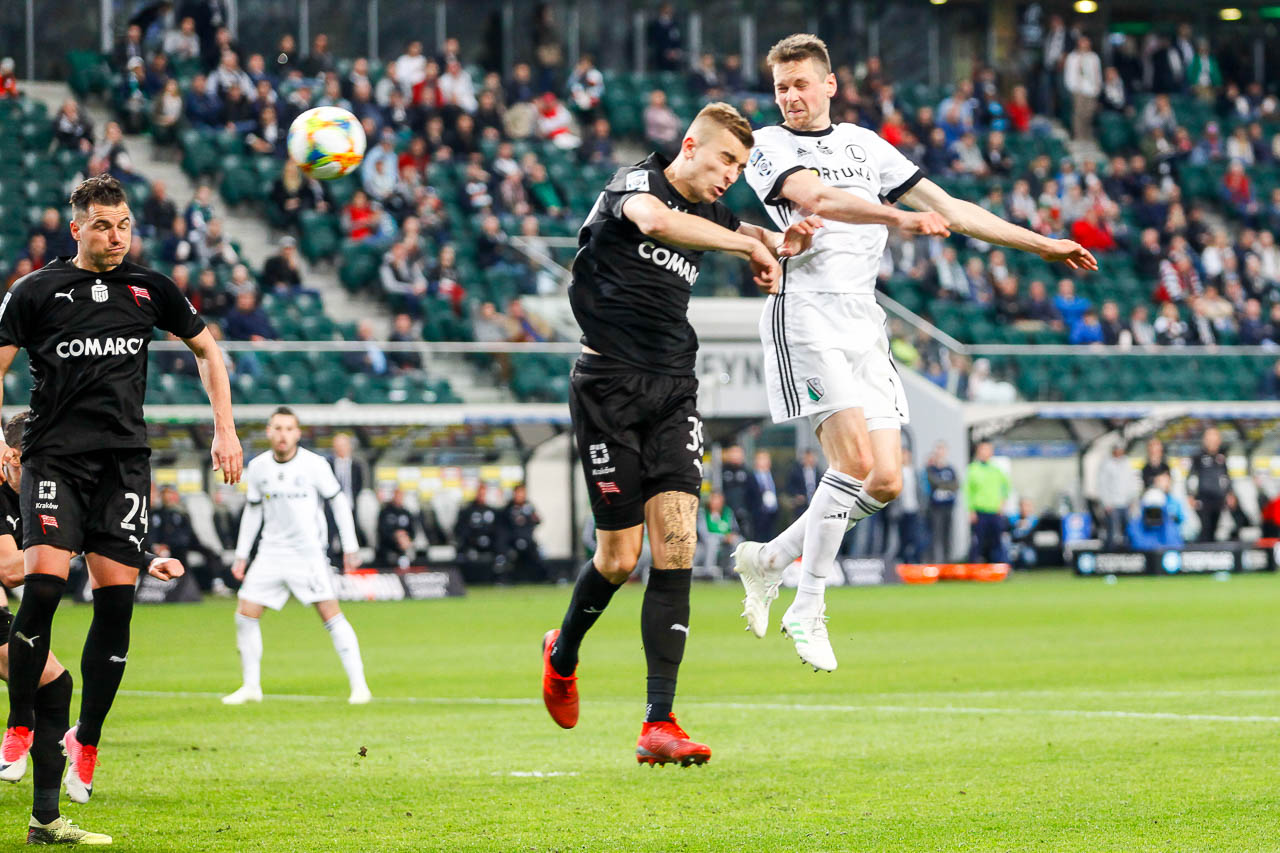 Legia Warszawa 1-0 Cracovia - fot. Piotr Galas (zdjęcie 42 z 89)