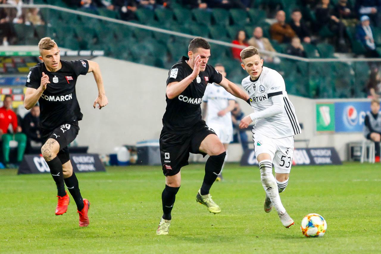 Legia Warszawa 1-0 Cracovia - fot. Piotr Galas (zdjęcie 43 z 89)