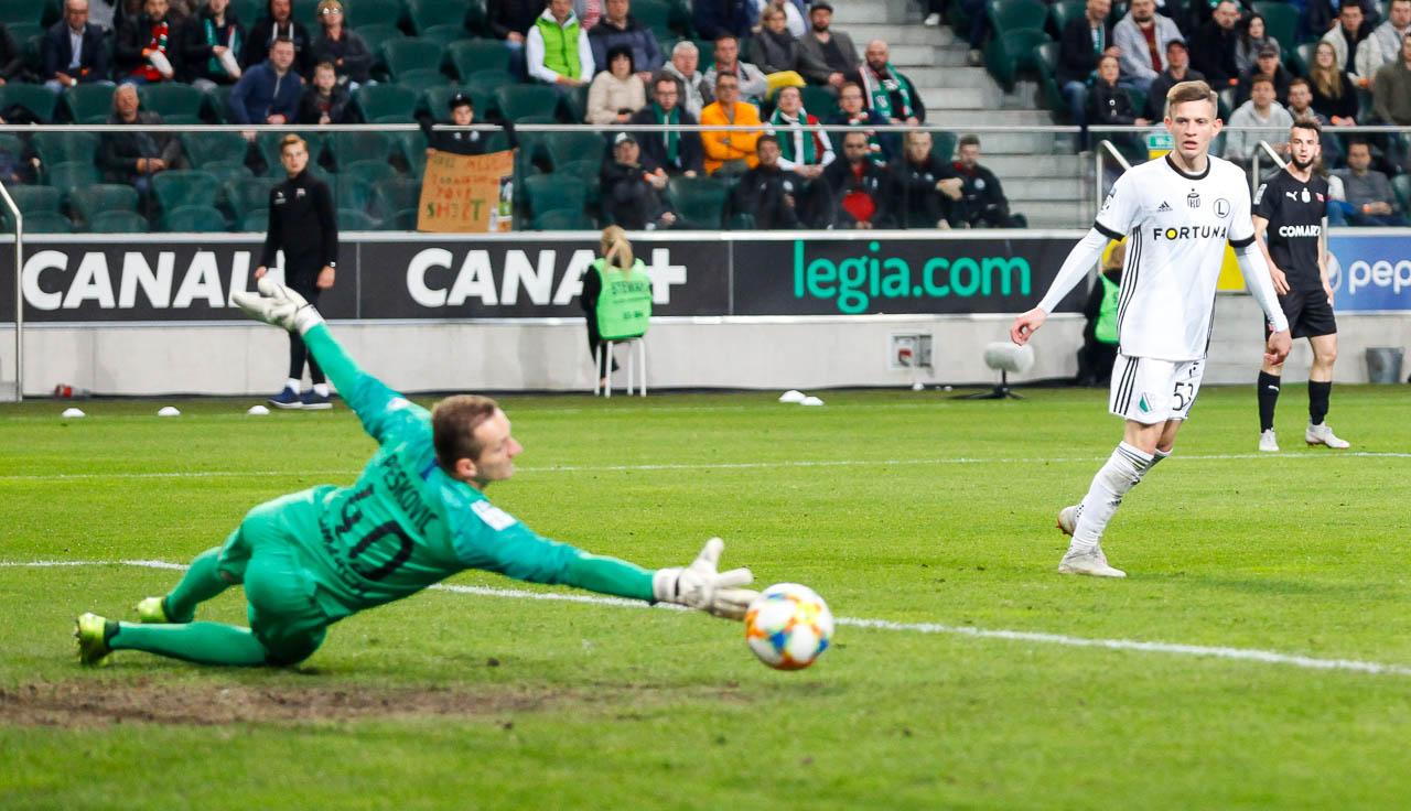 Legia Warszawa 1-0 Cracovia - fot. Piotr Galas (zdjęcie 45 z 89)